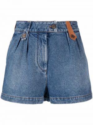 Синие джинсовые джинсовые шорты Loewe