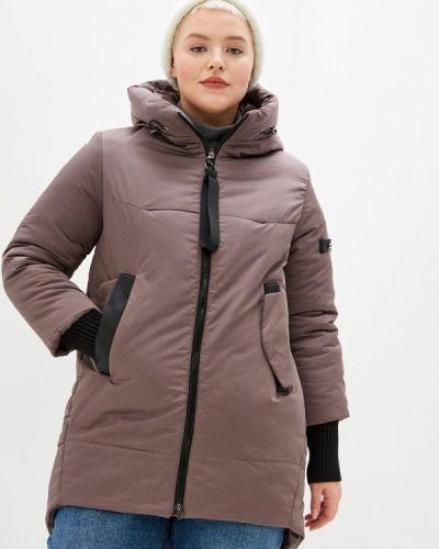 Утепленная куртка - коричневая Grafinia