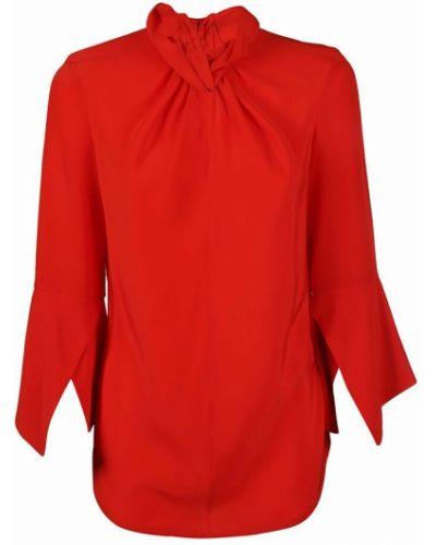 Bluzka - czerwona Victoria Beckham