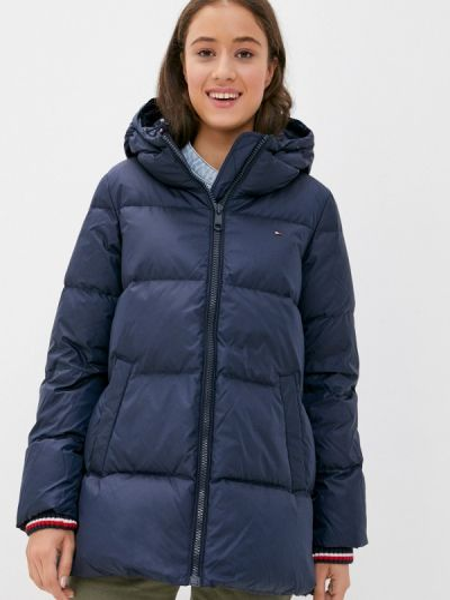 Синяя зимняя куртка Tommy Hilfiger