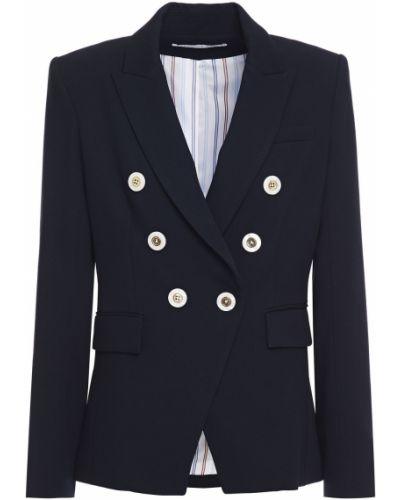 Трикотажный пиджак двубортный с подкладкой Veronica Beard