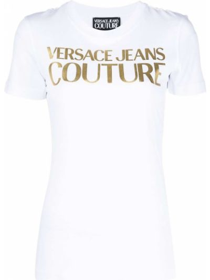 Лонгслив - белая Versace Jeans Couture