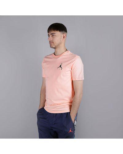 Розовая футболка хлопковая Jordan