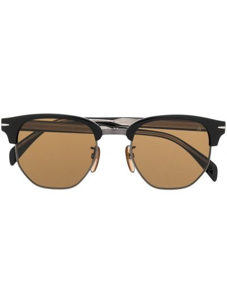 Oprawka do okularów ze srebra David Beckham Eyewear