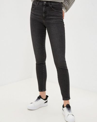 Черные джинсы-скинни узкого кроя Wrangler