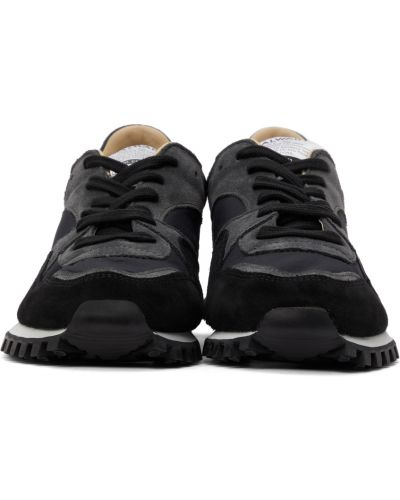 Białe sneakersy zamszowe Spalwart