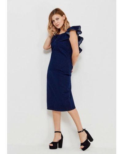 Джинсовое платье весеннее синее Lost Ink Plus