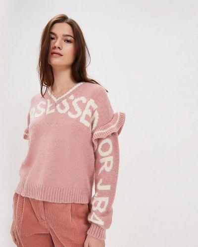 Пуловер розовый итальянский J.b4