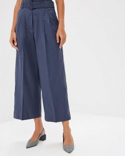 Синие брюки Mango