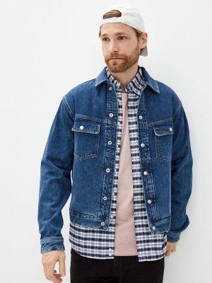 Джинсовая куртка - синяя The Kooples