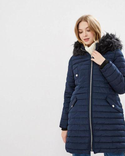 Утепленная куртка - синяя Bruebeck