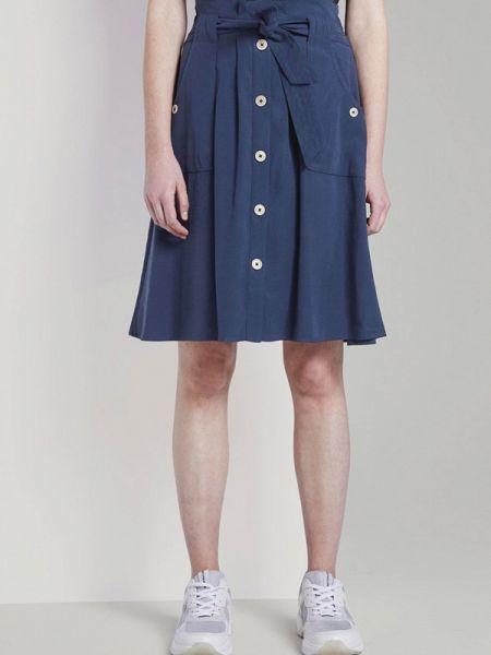 Синяя юбка Tom Tailor
