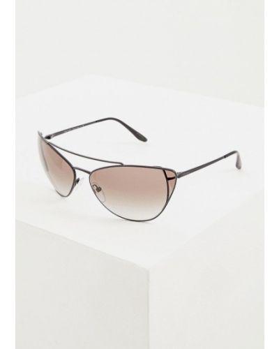 Очки авиаторы солнцезащитные итальянский Prada