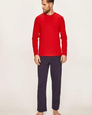 Piżama długo z obrazem Calvin Klein Underwear
