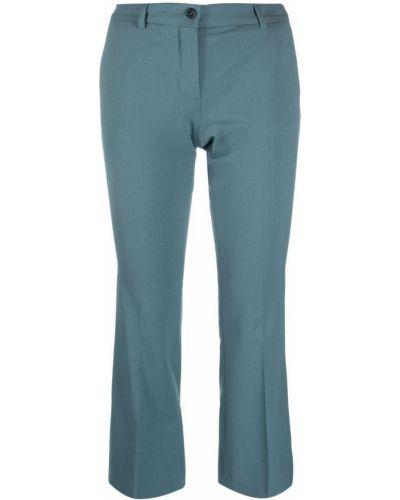 Укороченные брюки - синие Alberto Biani