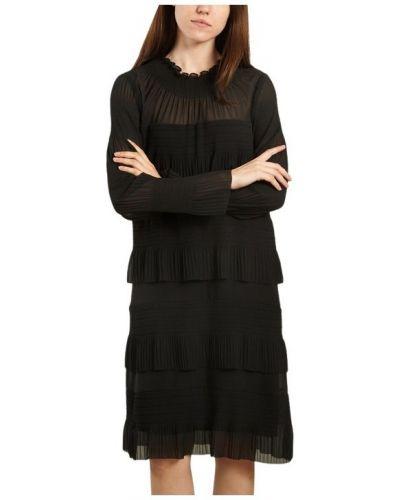 Czarna sukienka elegancka By Malene Birger
