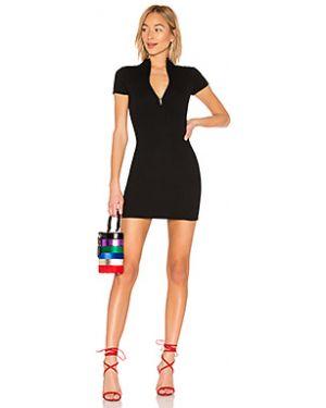 Облегающее платье в рубчик из вискозы By The Way.