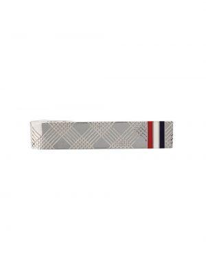Krawat srebrny Thom Browne