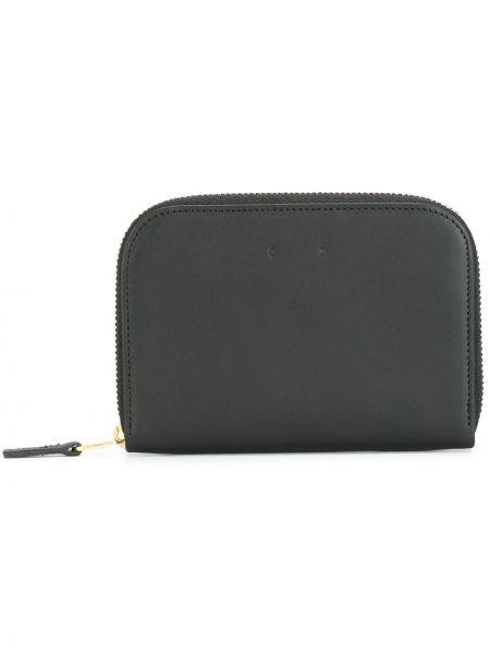 Черный кожаный кошелек Pb 0110