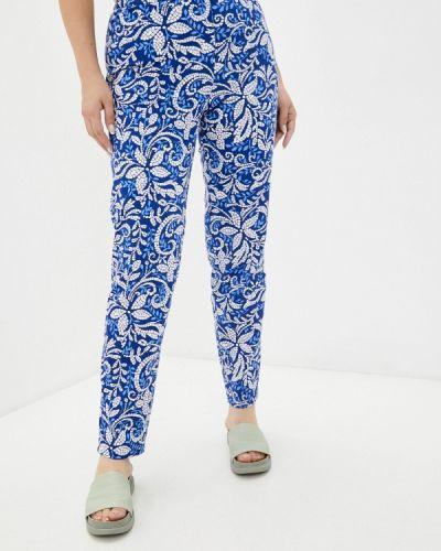 Зауженные брюки - синие Averi