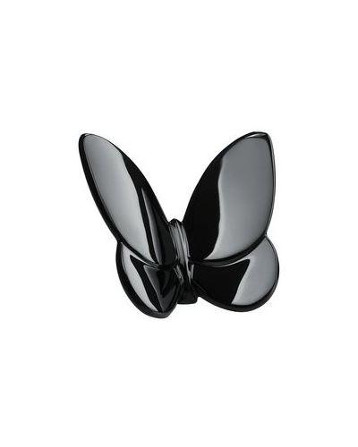 Черная бабочка с бабочкой Baccarat