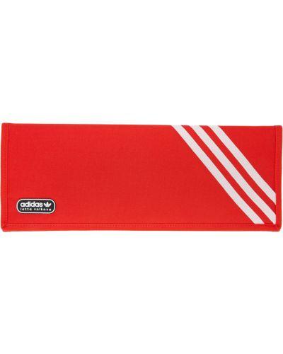 Czarna kopertówka w paski na rzepy Adidas Lotta Volkova