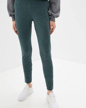 Спортивные брюки зеленый Salomon