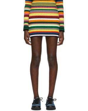 Bawełna bawełna spódnica mini w paski Agr
