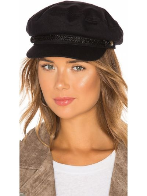 Czarna czapka bawełniana Brixton