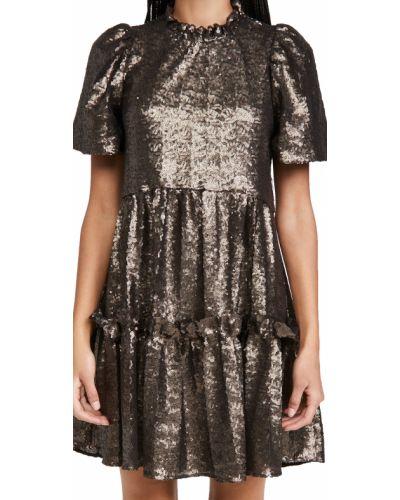 Платье с декольте с подкладкой круглое Sea