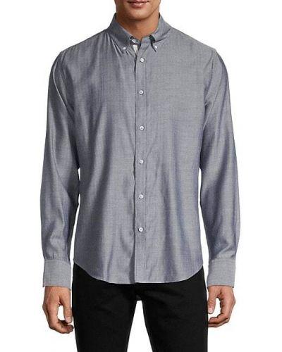 Koszula bawełniana z długimi rękawami zapinane na guziki Rag & Bone