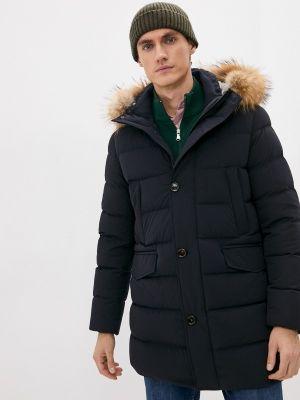 Длинная куртка - синий Hetrego