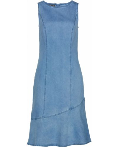Джинсовое платье Bonprix
