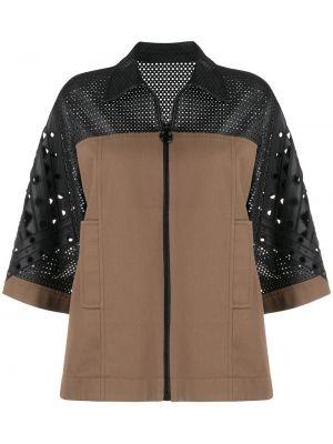 Куртка оверсайз на молнии Emilio Pucci