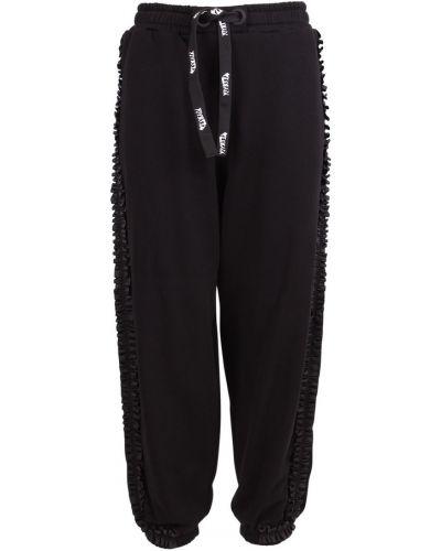 Czarne spodnie Vivetta