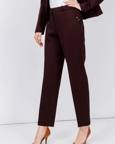 Коричневые классические брюки мадам т