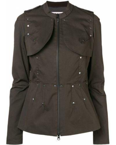 Темно-синяя армейская длинная куртка A.f.vandevorst