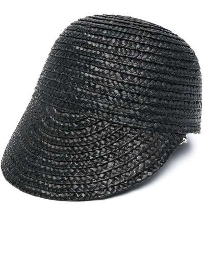 Соломенная кепка - черная Kate Cate