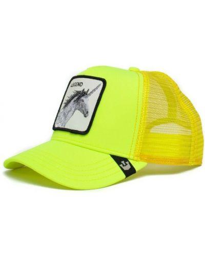 Żółta czapka z daszkiem Goorin Bros