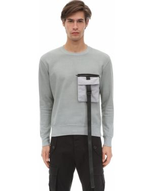 Prążkowana bluza bawełniana klamry Tdt - Tourne De Transmission