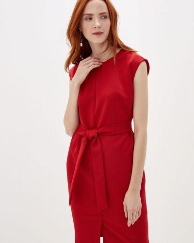 Платье футляр красный Vittoria Vicci