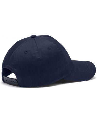 Синяя футбольная классическая кепка с вышивкой Puma