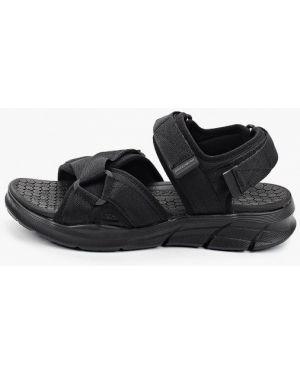 Сандалии черные Skechers