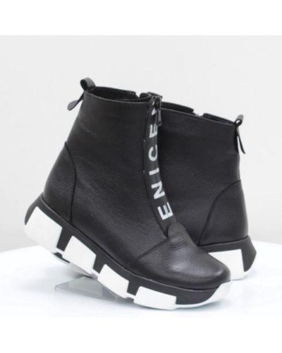 Кожаные ботинки - белые Mistral