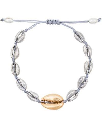 Золотой браслет металлический Tohum
