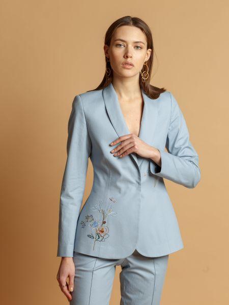Текстильный брендовый пиджак Insideu