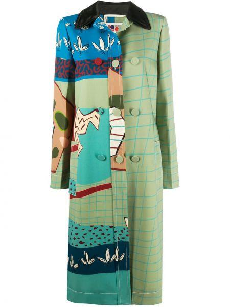 Облегающее платье на пуговицах со вставками Ports 1961