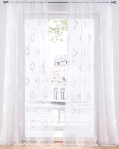 Белое платье жаккардовое Bonprix