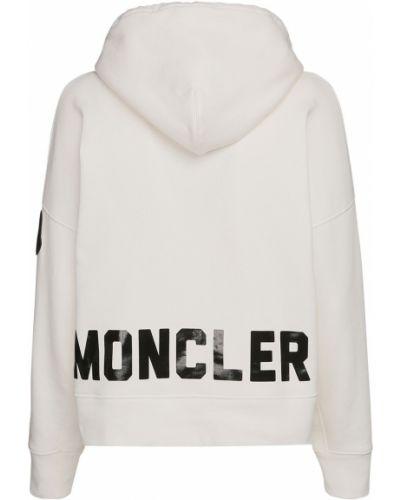 Biały bluza Moncler