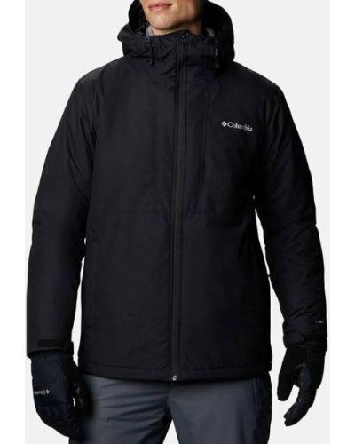 Черная кожаная куртка мембранная Columbia